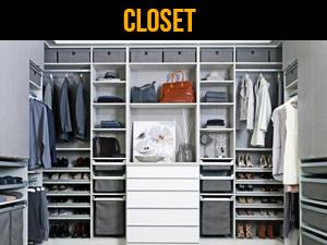 Accesorios y sistemas para closet